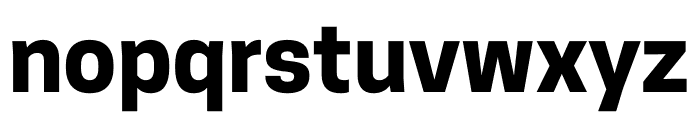 CooperHewitt-Bold Font LOWERCASE