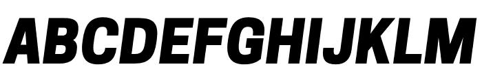 CooperHewitt-HeavyItalic Font UPPERCASE