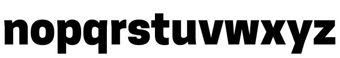 CooperHewitt-Heavy Font LOWERCASE