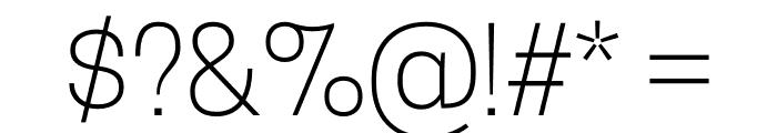 CooperHewitt-Light Font OTHER CHARS