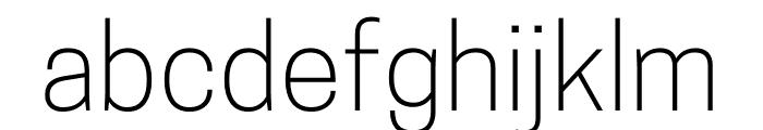 CooperHewitt-Light Font LOWERCASE