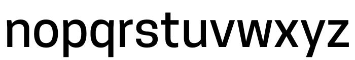 CooperHewitt-Medium Font LOWERCASE