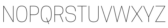 CooperHewitt-Thin Font UPPERCASE