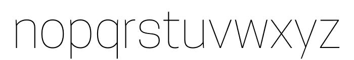 CooperHewitt-Thin Font LOWERCASE