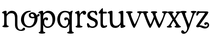 Coopman Font LOWERCASE