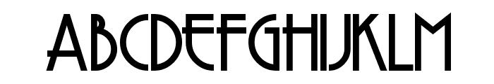 Copasetic Font UPPERCASE