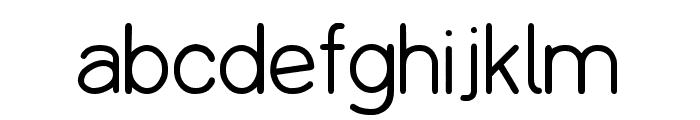 Copilme Light Font LOWERCASE