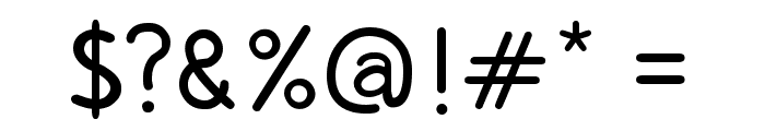 Copilme Regular Font OTHER CHARS