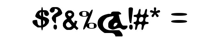 Coptic Eyes Latin Font OTHER CHARS