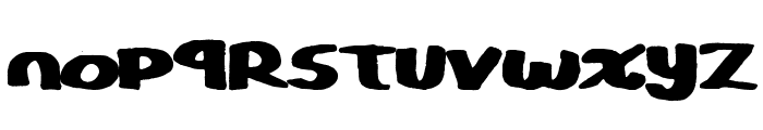 CopyStand Font UPPERCASE