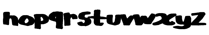 CopyStand Font LOWERCASE