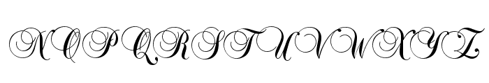 Copyist Thin Font UPPERCASE