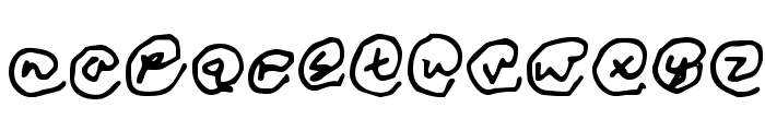 Copyright Renewed Font LOWERCASE
