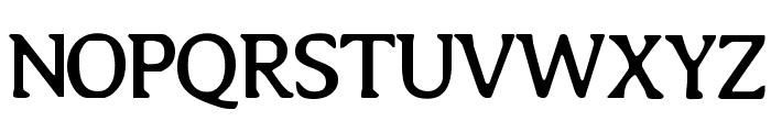 Copyshop Font UPPERCASE