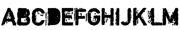 Copystruct Bold Font UPPERCASE
