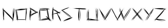 Coraje Leve Font LOWERCASE