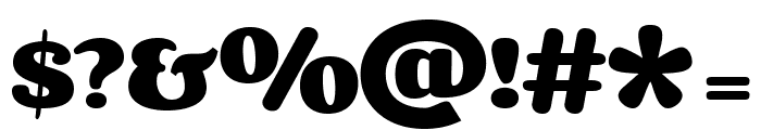 Corben-Bold Font OTHER CHARS