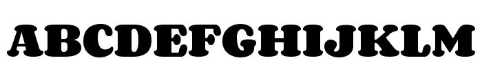 Corben Font UPPERCASE