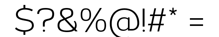 Corbert-Regular Font OTHER CHARS