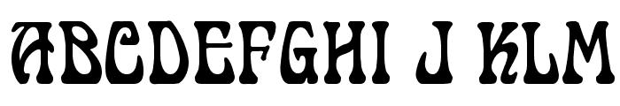 Cordeballet Font UPPERCASE