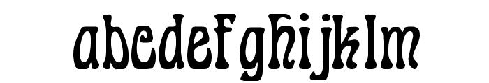 Cordeballet Font LOWERCASE