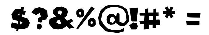 Cordel Groteska Bold Font OTHER CHARS