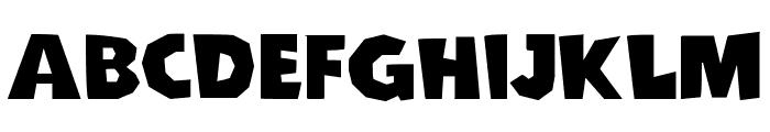 Cordel Groteska Bold Font UPPERCASE