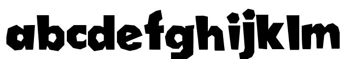 Cordel Groteska Bold Font LOWERCASE