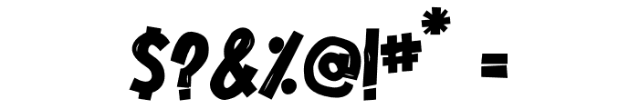 Cordenilo Bold Font OTHER CHARS