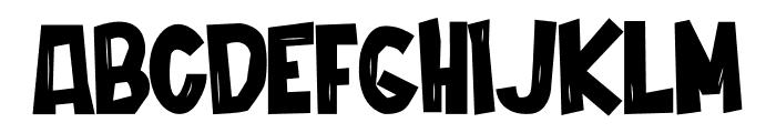 Cordenilo Bold Font UPPERCASE