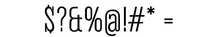 Corki Tuscan Font OTHER CHARS