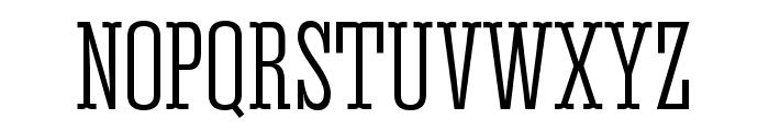 Corki Tuscan Font UPPERCASE