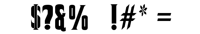 Corleone Font OTHER CHARS
