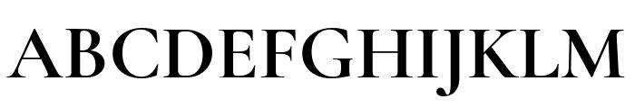 Cormorant Garamond Bold Font UPPERCASE