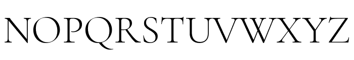 Cormorant Garamond Light Font UPPERCASE