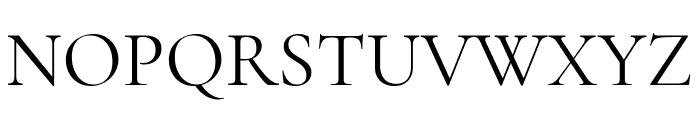 Cormorant Garamond Regular Font UPPERCASE