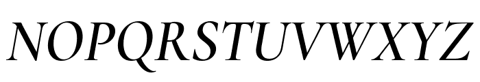 Cormorant Garamond SemiBold Italic Font UPPERCASE