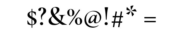 Cormorant Garamond SemiBold Font OTHER CHARS
