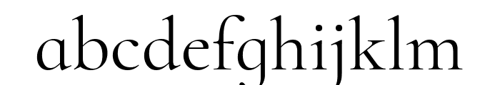 Cormorant Infant Regular Font LOWERCASE