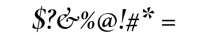 Cormorant Infant SemiBold Italic Font OTHER CHARS