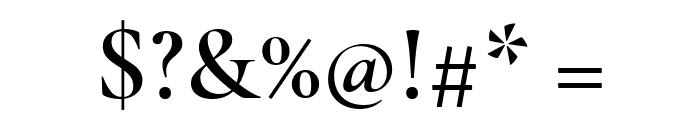 Cormorant Infant SemiBold Font OTHER CHARS