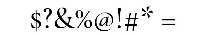 Cormorant Medium Font OTHER CHARS