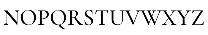 Cormorant Medium Font UPPERCASE