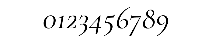 Cormorant Regular Italic Font OTHER CHARS