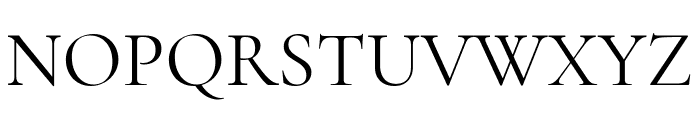Cormorant Regular Font UPPERCASE