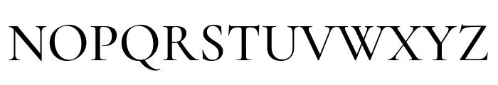 Cormorant SC Medium Font UPPERCASE