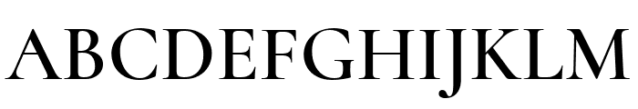 Cormorant SC SemiBold Font UPPERCASE
