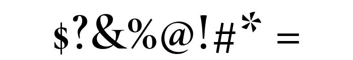 Cormorant Semi Font OTHER CHARS