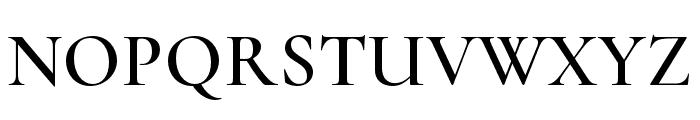 Cormorant Semi Font UPPERCASE