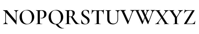 Cormorant SemiBold Font UPPERCASE